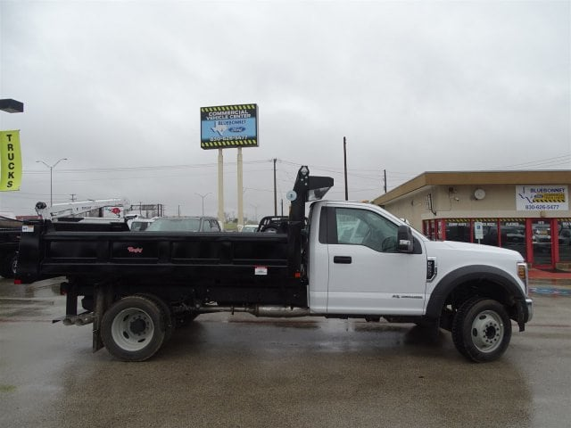 2019 F-550 Regular Cab DRW 4x2,  Rugby Dump Body #TDA03914 - photo 3