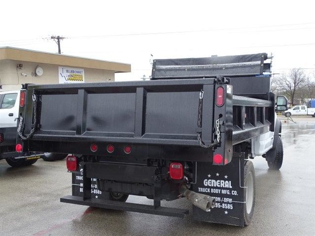 2019 F-550 Regular Cab DRW 4x2,  Rugby Dump Body #TDA03914 - photo 2