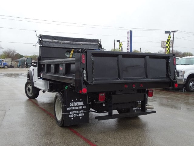 2019 F-550 Regular Cab DRW 4x2,  Rugby Dump Body #TDA03914 - photo 5