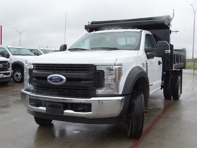 2019 F-550 Regular Cab DRW 4x2,  Rugby Dump Body #TDA03914 - photo 6
