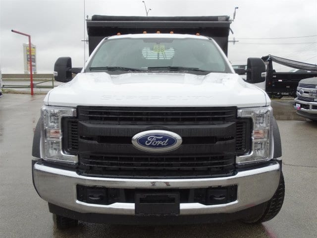 2019 F-550 Regular Cab DRW 4x2,  Rugby Dump Body #TDA03914 - photo 7