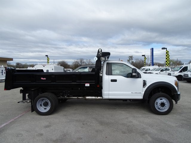 2019 F-550 Regular Cab DRW 4x2,  Rugby Dump Body #TDA03915 - photo 3