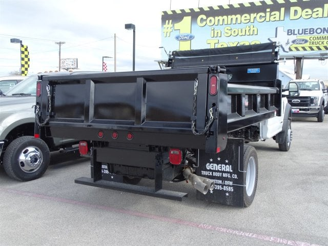 2019 F-550 Regular Cab DRW 4x2,  Rugby Dump Body #TDA03915 - photo 2