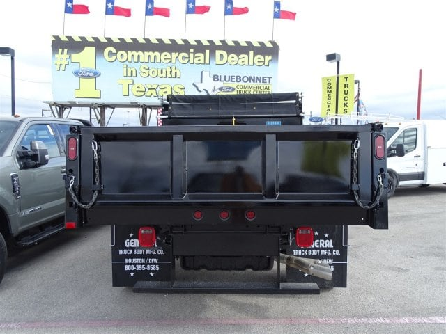 2019 F-550 Regular Cab DRW 4x2,  Rugby Dump Body #TDA03915 - photo 4
