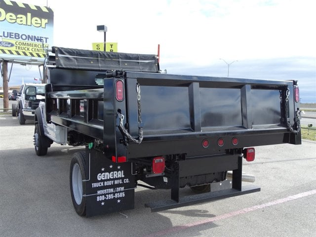 2019 F-550 Regular Cab DRW 4x2,  Rugby Dump Body #TDA03915 - photo 5