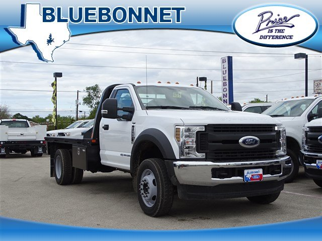 2019 F-550 Regular Cab DRW 4x4,  Flatbed #TDA04464 - photo 1