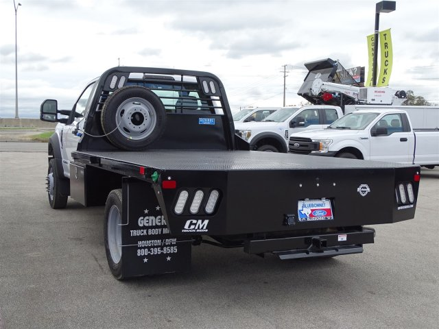 2019 F-550 Regular Cab DRW 4x4,  Flatbed #TDA04464 - photo 5