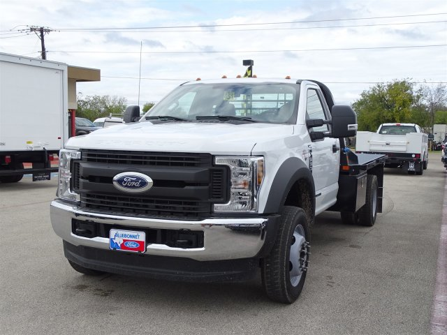 2019 F-550 Regular Cab DRW 4x4,  Flatbed #TDA04464 - photo 6