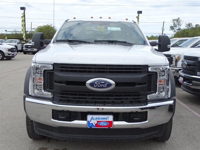 2019 F-550 Regular Cab DRW 4x4,  Flatbed #TDA04464 - photo 7