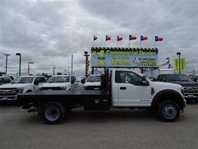 2019 F-550 Regular Cab DRW 4x4,  Flatbed #TDA04464 - photo 3