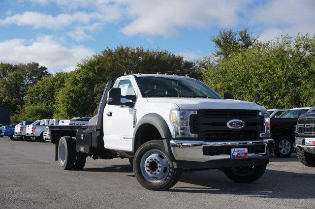 2019 Ford F-550 Regular Cab DRW 4x2, CM Truck Beds RD Model Flatbed #TDA24919 - photo 1