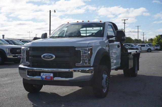 2019 Ford F-550 Regular Cab DRW 4x2, CM Truck Beds RD Model Flatbed #TDA24919 - photo 7