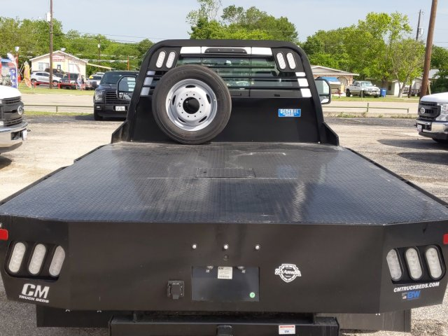 2019 Ford F-550 Regular Cab DRW 4x4, CM Truck Beds RD Model Flatbed #TDA27396 - photo 5
