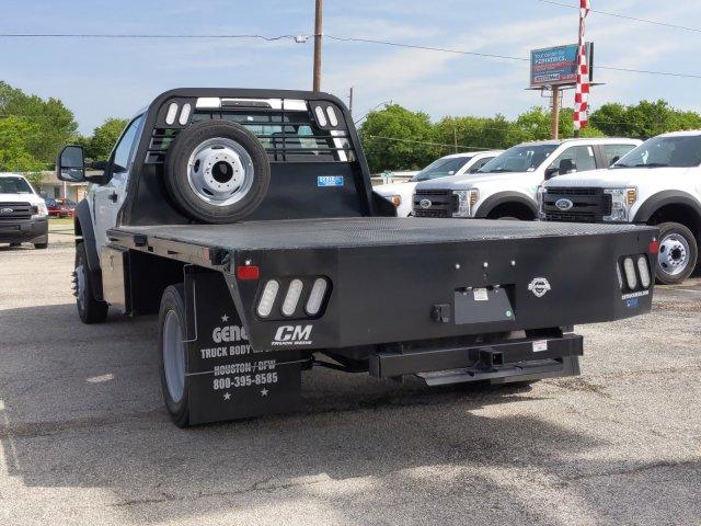2019 Ford F-550 Regular Cab DRW 4x4, CM Truck Beds RD Model Flatbed #TDA27396 - photo 6