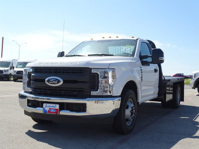 2018 F-350 Regular Cab DRW, Knapheide PGNB Gooseneck Flatbed #TEB24324 - photo 8