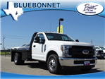2018 F-350 Regular Cab DRW, Knapheide PGNB Gooseneck Flatbed #TEB24324 - photo 1