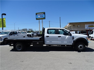 2017 F-550 Crew Cab DRW, Royal Flatbed Bodies Flatbed #TEB42262 - photo 4