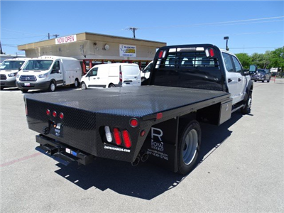 2017 F-550 Crew Cab DRW, Royal Flatbed Bodies Flatbed #TEB42262 - photo 2