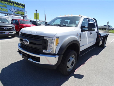 2017 F-550 Crew Cab DRW, Royal Flatbed Bodies Flatbed #TEB42262 - photo 8