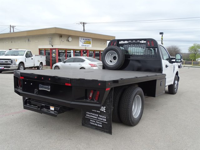 2018 F-350 Regular Cab DRW,  Knapheide PGNB Gooseneck Flatbed #TEB54151 - photo 2