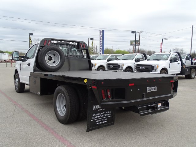 2018 F-350 Regular Cab DRW,  Knapheide PGNB Gooseneck Flatbed #TEB54151 - photo 6