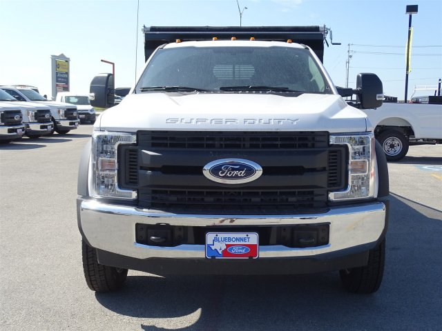 2018 F-550 Crew Cab DRW 4x2,  Rugby Dump Body #TEC14452 - photo 9