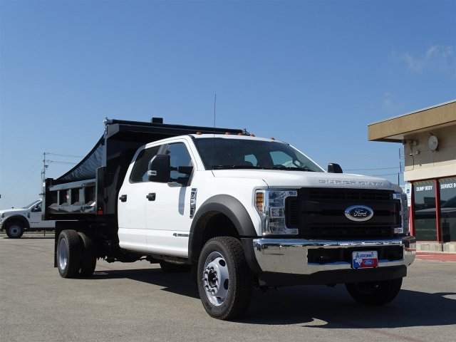 2018 F-550 Crew Cab DRW 4x2,  Rugby Dump Body #TEC14452 - photo 3