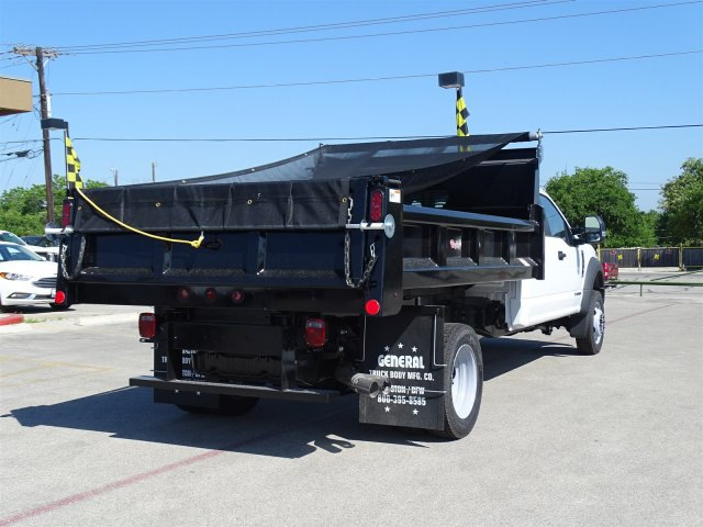 2018 F-550 Crew Cab DRW 4x2,  Rugby Dump Body #TEC14452 - photo 2