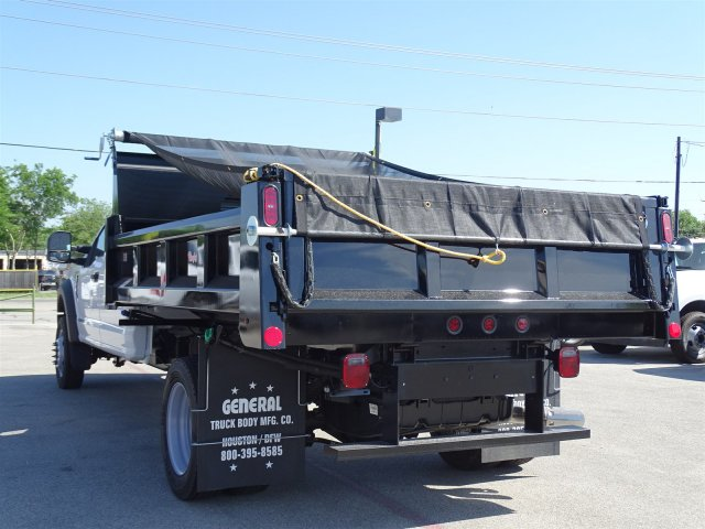 2018 F-550 Crew Cab DRW 4x2,  Rugby Dump Body #TEC14452 - photo 6
