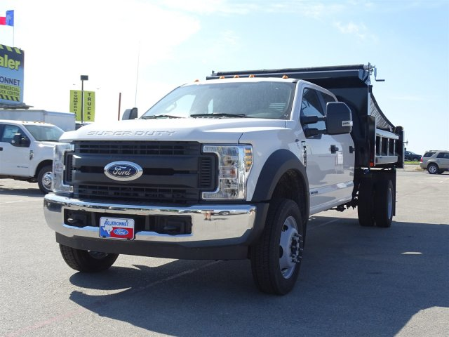 2018 F-550 Crew Cab DRW 4x2,  Rugby Dump Body #TEC14452 - photo 8