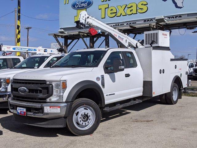 2021 Ford F-550 Super Cab DRW 4x4, Reading Mechanics Body #TEC15248 - photo 1
