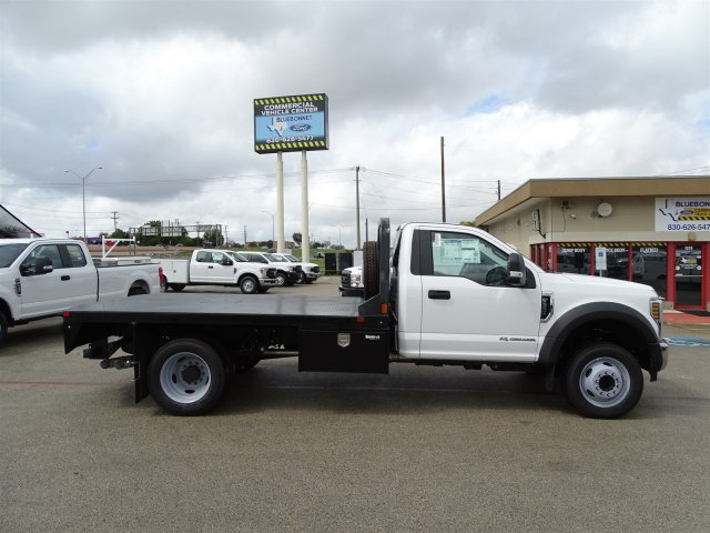 2019 F-550 Regular Cab DRW 4x2,  CM Truck Beds RD Model Flatbed #TEC16315 - photo 4