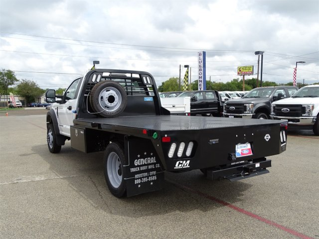 2019 F-550 Regular Cab DRW 4x2,  CM Truck Beds RD Model Flatbed #TEC16315 - photo 6