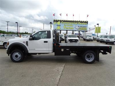 2019 F-550 Regular Cab DRW 4x2,  CM Truck Beds RD Model Flatbed #TEC16315 - photo 7