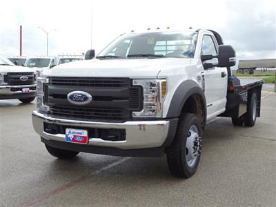 2019 F-550 Regular Cab DRW 4x2,  CM Truck Beds RD Model Flatbed #TEC16315 - photo 8