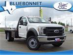 2019 F-550 Regular Cab DRW 4x2,  CM Truck Beds RD Model Flatbed #TEC16315 - photo 1
