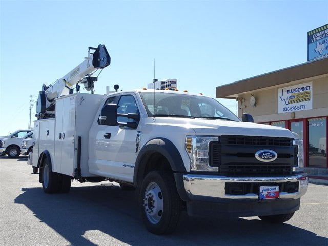 2019 F-550 Super Cab DRW 4x4,  Palfinger PAL Pro 43 Service Body #TEC16343 - photo 1