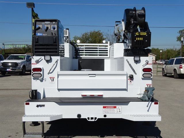 2019 F-550 Super Cab DRW 4x4,  Palfinger PAL Pro 43 Service Body #TEC16343 - photo 6