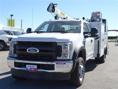 2019 F-550 Super Cab DRW 4x4,  Palfinger PAL Pro 43 Service Body #TEC16343 - photo 9