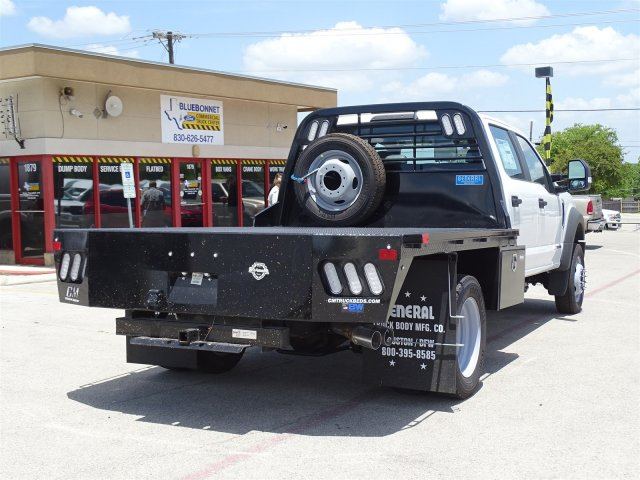 2018 F-450 Crew Cab DRW 4x2,  CM Truck Beds RD Model Flatbed #TEC21777 - photo 2