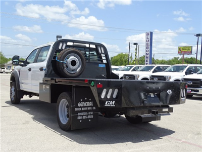 2018 F-450 Crew Cab DRW 4x2,  CM Truck Beds RD Model Flatbed #TEC21777 - photo 6