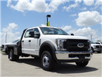 2018 F-450 Crew Cab DRW 4x2,  CM Truck Beds RD Model Flatbed #TEC21777 - photo 5