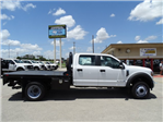 2018 F-450 Crew Cab DRW 4x2,  CM Truck Beds RD Model Flatbed #TEC21777 - photo 3