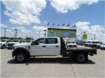 2018 F-450 Crew Cab DRW 4x2,  CM Truck Beds RD Model Flatbed #TEC21777 - photo 7