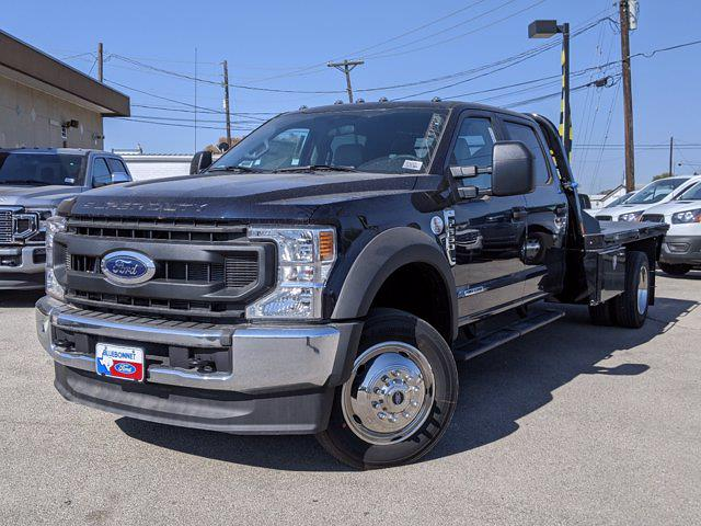 2021 Ford F-550 Crew Cab DRW 4x4, CM Truck Beds Platform Body #TEC42371 - photo 1