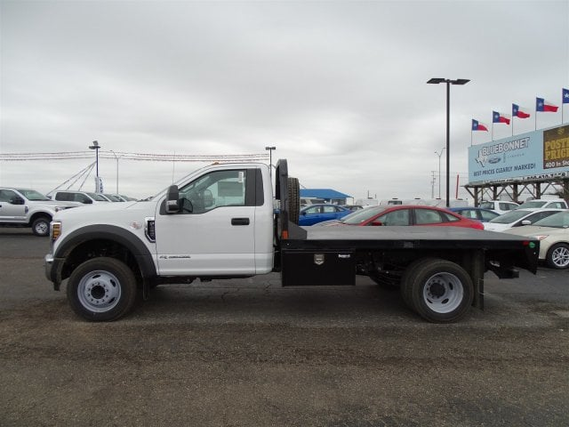 2019 F-450 Regular Cab DRW 4x2,  CM Truck Beds Platform Body #TEC52231 - photo 5