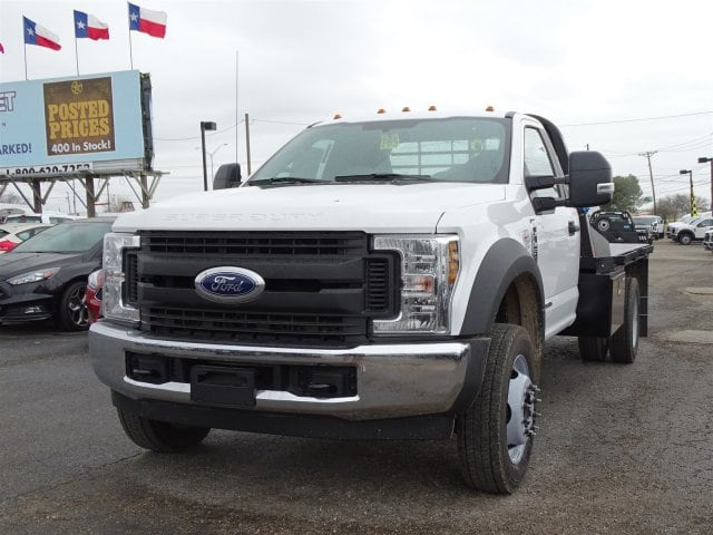 2019 F-450 Regular Cab DRW 4x2,  CM Truck Beds Platform Body #TEC52231 - photo 6