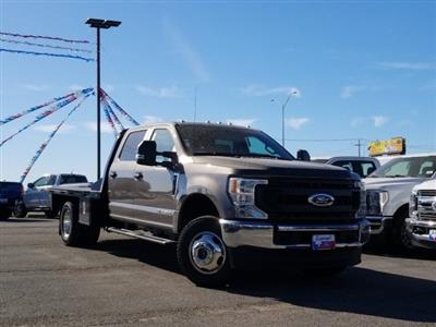 2020 Ford F-350 Crew Cab DRW 4x4, CM Truck Beds RD Model Flatbed #TEC52651 - photo 1