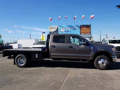 2020 Ford F-350 Crew Cab DRW 4x4, CM Truck Beds RD Model Flatbed #TEC52651 - photo 5