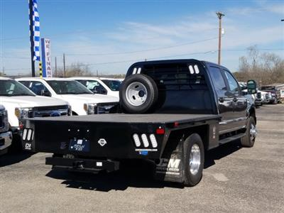 2020 Ford F-350 Crew Cab DRW 4x4, CM Truck Beds RD Model Flatbed #TEC52651 - photo 2